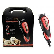 Машинка для стрижки груминга животных кошек и собак Gemei GM-1023, фото 3