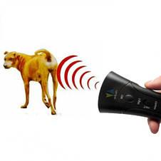 Мощный карманный ультразвуковой отпугиватель собак Super Ultrasonic AD-100, фото 3