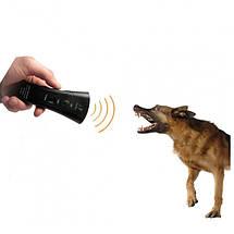 Мощный карманный ультразвуковой отпугиватель собак Super Ultrasonic AD-100, фото 2