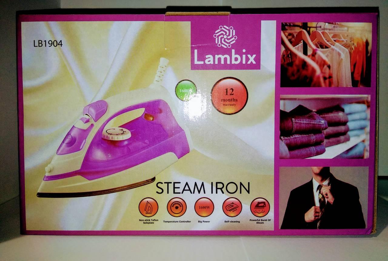 Паровой утюг Lambix LB1904