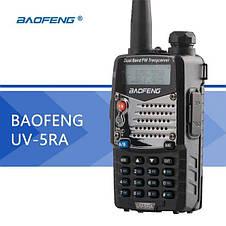 Двухдиапазонная носимая портативная радиостанция Baofeng UV-5RA-SXA dual band walkie talkie Original size, фото 3