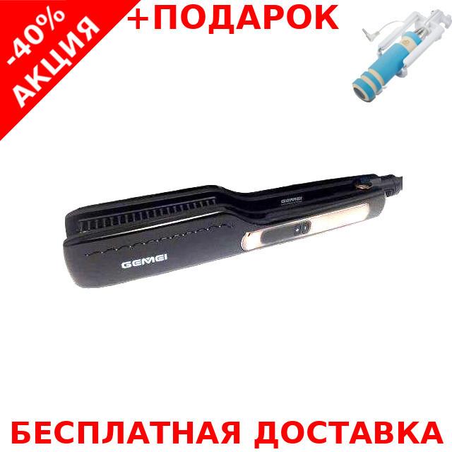 Профессиональный утюжок - выпрямитель для волос Gemei GM433 с керамическим покрытием