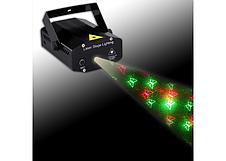 Лазерный проектор Mini Laser Stage Lightning Original size Светомузыка Лазер шоу Стратоскоп Проектор 3D, фото 3