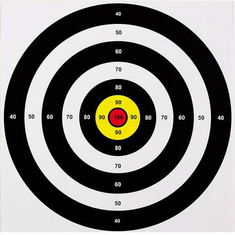 Мишень средняя (40x40) -10 шт, фото 2