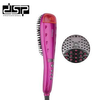 Электрический выпрямитель для волос щетка расческа DSP E-10040, фото 2