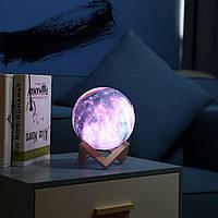 Настольний светильник Magic 3D Moon Light № E07-21 Цветная
