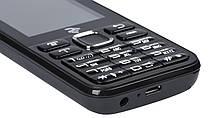 Кнопочный мобильный телефон Twoe 2E Mobile Phone E240 Dual Sim с дополнительной крышкой, фото 3
