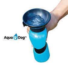 Дорожная поилка - бутылка для собак Aqua Dog Аква Дог, фото 2