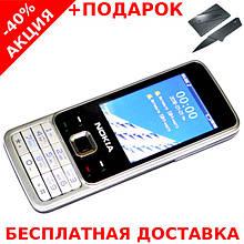Кнопочный мобильный телефон Nokia 6300 Original size Conventional case 2 sim карты, 1200 Mah