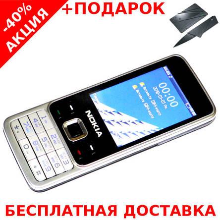 Кнопочный мобильный телефон Nokia 6300 Original size Conventional case 2 sim карты, 1200 Mah, фото 2