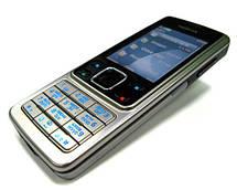 Кнопочный мобильный телефон Nokia 6300 Original size Conventional case 2 sim карты, 1200 Mah, фото 3