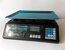 Весы электронные бытовые настольные для торговли до 40 кг с памятью LOW ZERO DRIFT digital scales, фото 2