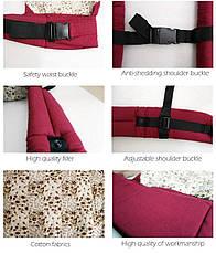 Слинг-рюкзак EggBabby RED переноска для ребенка кенгуру слинг, фото 3