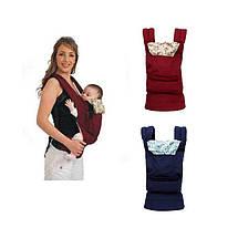 Слинг-рюкзак EggBabby RED переноска для ребенка кенгуру слинг, фото 2