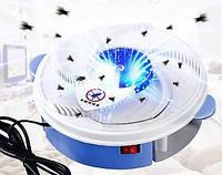 Ловушка для насекомых USB Electric Fly Trap Mosquitoes №D06-3 Бело-голубая