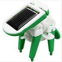 Игрушка-конструктор для ребенка Solar Robot 6 в 1 MAT CASE на солнечной батарее Green energy, фото 2