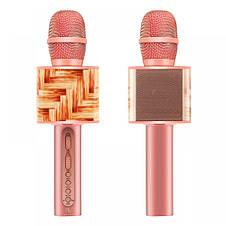 Беспроводная портативная колонка + караоке микрофон 2в1 SU-YOSD YS-10A, фото 3