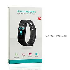 Умный смарт - браслет GORAL Y5 глянец Smart Bracelet Unleash Your Run (Heart Rate, Blood Presure, etc), фото 3