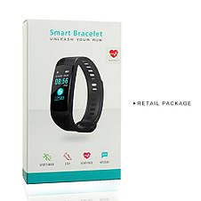 Умный смарт-браслет(27/70)GORAL Y5 Smart Bracelet Unleash Your Run Original size(Heart Rate,Blood Presure,etc), фото 2