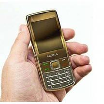 Мобильный кнопочный телефон Nokia 6700 Gold (2sim) Original size, фото 2