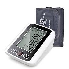 Автоматический тонометр измеритель кровяного давления Blood Pressure Monitor, фото 2