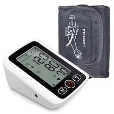 Автоматический тонометр измеритель кровяного давления Blood Pressure Monitor, фото 3