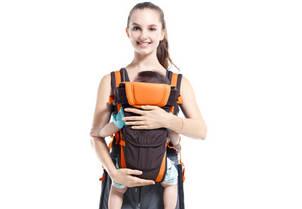 Рюкзак - слинг кенгуру EggBaby переноска для детей от 0 лет, фото 2