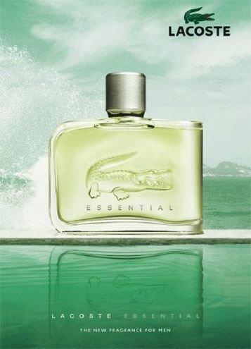 Lacoste Essential (edt 125 ml), Original size мужская туалетная вода