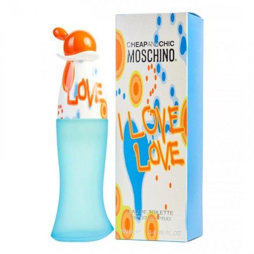 Moschino Cheap and Chic I Love 100ml,Original size женская туалетная парфюмированная вода тестер духи аромат