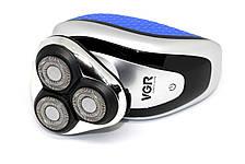Мужская электробритва VGR V-300 USB, фото 3