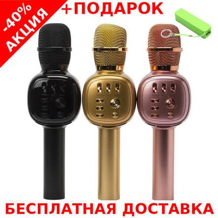 Микрофон  CHARGE K-310 Красный Original size караоке динамик Bluetooth, фото 2