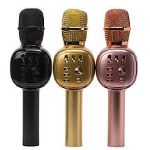 Микрофон  CHARGE K-310 Красный Original size караоке динамик Bluetooth, фото 3