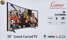 "Телевизор  50"" Smart изогнутый (Android 7.1 (1/4)) 4k UHD, фото 3"