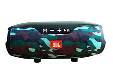 Портативная колонка JBL Сharge E14+ KAMUFLAGE с подставкой для телефона Bluetooth FM SD MP3, фото 3