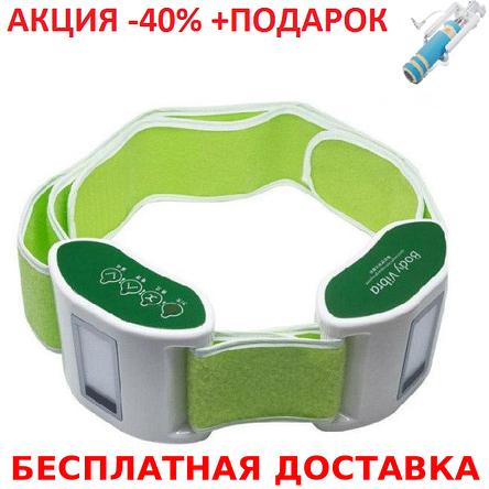 Пояс для вибро-массажа живота и боков RenKai RK-005 Body MAT CASE vibration body massager, фото 2