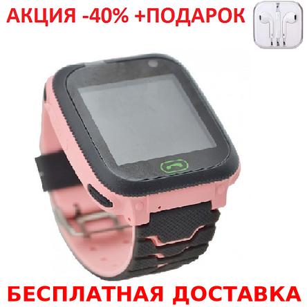 Детские наручные часы Smart F3 смарт матовый часы телефон GPS трекер детский телефон с кнопкой сос, фото 2