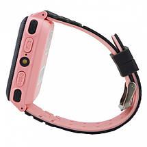 Детские наручные часы Smart F3 смарт матовый часы телефон GPS трекер детский телефон с кнопкой сос, фото 3