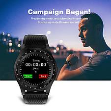 Смарт часы с Камера Bluetooth Smartwatch L9 смарт глянец часы  трекер Умные часы фитнес часы, фото 3