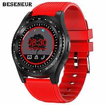 Смарт часы с Камера Bluetooth Smartwatch L9 смарт глянец часы  трекер Умные часы фитнес часы, фото 2