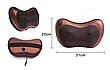MASSAGE PILLOW 8028 Blister case роликовый масажер для спины и шеи с инфокрасным подогревом, фото 6