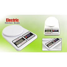Весы electronic kitchen scale sf-400 Электронные весы кухонные до 10 кг, фото 2