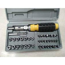 Набор инструмента AIWA PT/DR-18 41-Piece bit and Socket Set, фото 3