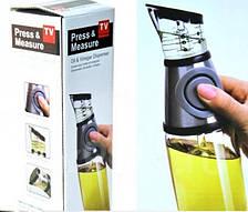 """Дозатор контейнер для хранения жидких пищевых продуктов. """"Press & Measure"""" BLISTER, фото 2"""