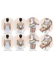 CERVICAL MASSAGE SHAWLS ударный воротниковы вибромассажер для спины, плеч и шеи Blister case, фото 2