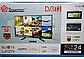 Телевизор с Т2  24LN4100D Т2 тюнер встроен в телевизор ТВ тюнер - (PAL/SECAM) BG DK I, фото 4