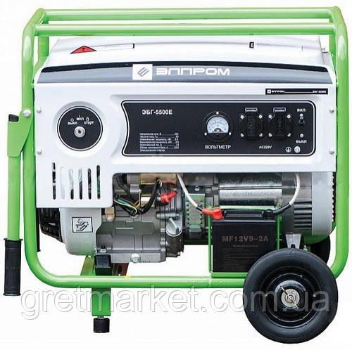 Бензиновый генератор Элпром ЭБГ 5500Е