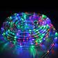 Новогодняя гирлянда светодиодная лента в силиконовой трубке Xmas Rope Light Tube Дюралайт шланг 10 метров 7189, фото 6