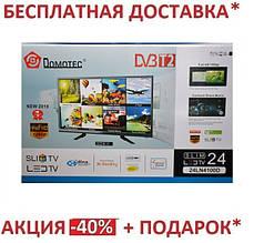 Телевизор с Т2  24LN4100D Т2 тюнер встроен в телевизор ТВ тюнер - (PAL/SECAM) BG DK I