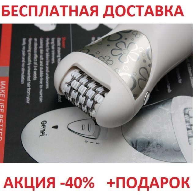 Эпилятор Gemei GM 3061 ( 4 в 1) Пемза  Джемэй вискубувач  CLOSSY CASE
