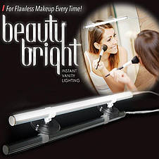 Светильник на зеркало Beauty Bright Light MAT PACK Original size Instant Vanity Lighting, фото 3